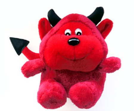 Cuddly Little Devil - Fully Customisable Plush