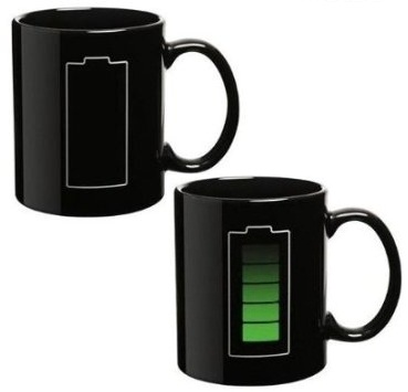 Tea / coffee mug with temperature sensor / Promotional product fully customized  to your requirement UK Supplier