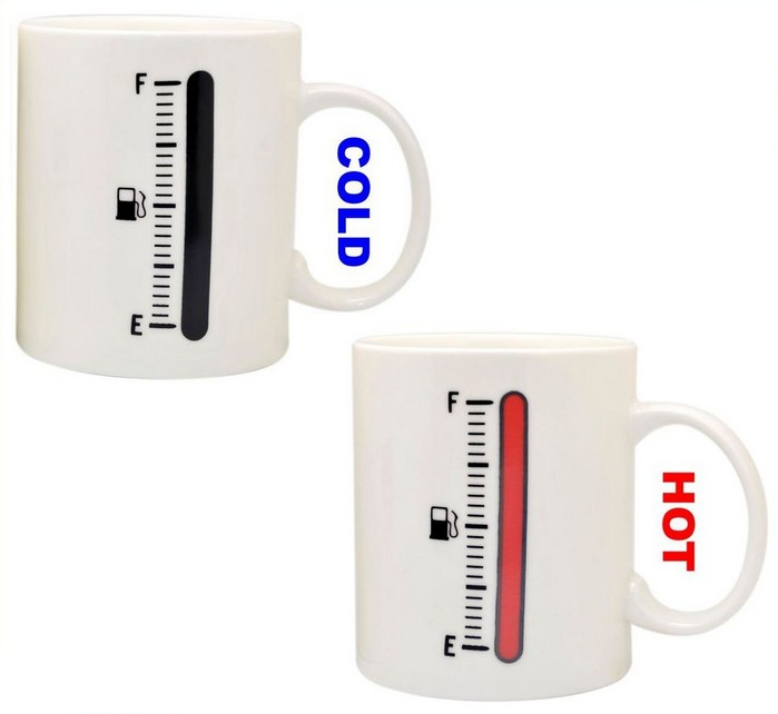 Tea / coffee mug with thermometer temperature sensor / Promotional product fully customized  to your requirement UK Supplier