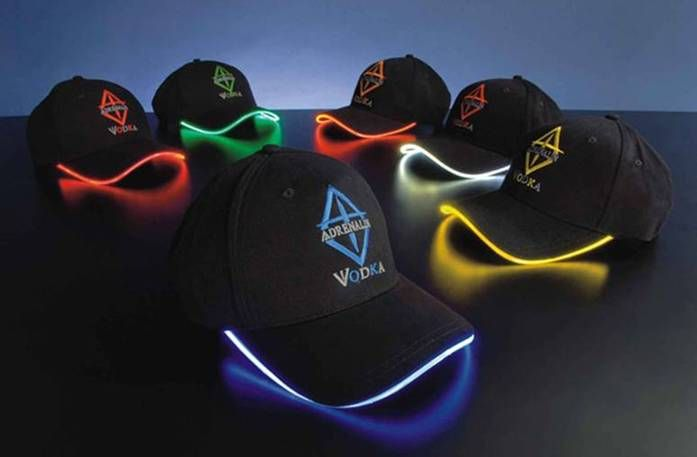 Baseball cap with LED light / Promotional product fully customized  to your requirement UK Supplier