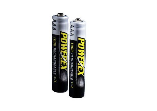 Maha MH-2AAA1000 POWEREX 1000mAh Re-Chargeable Batteries