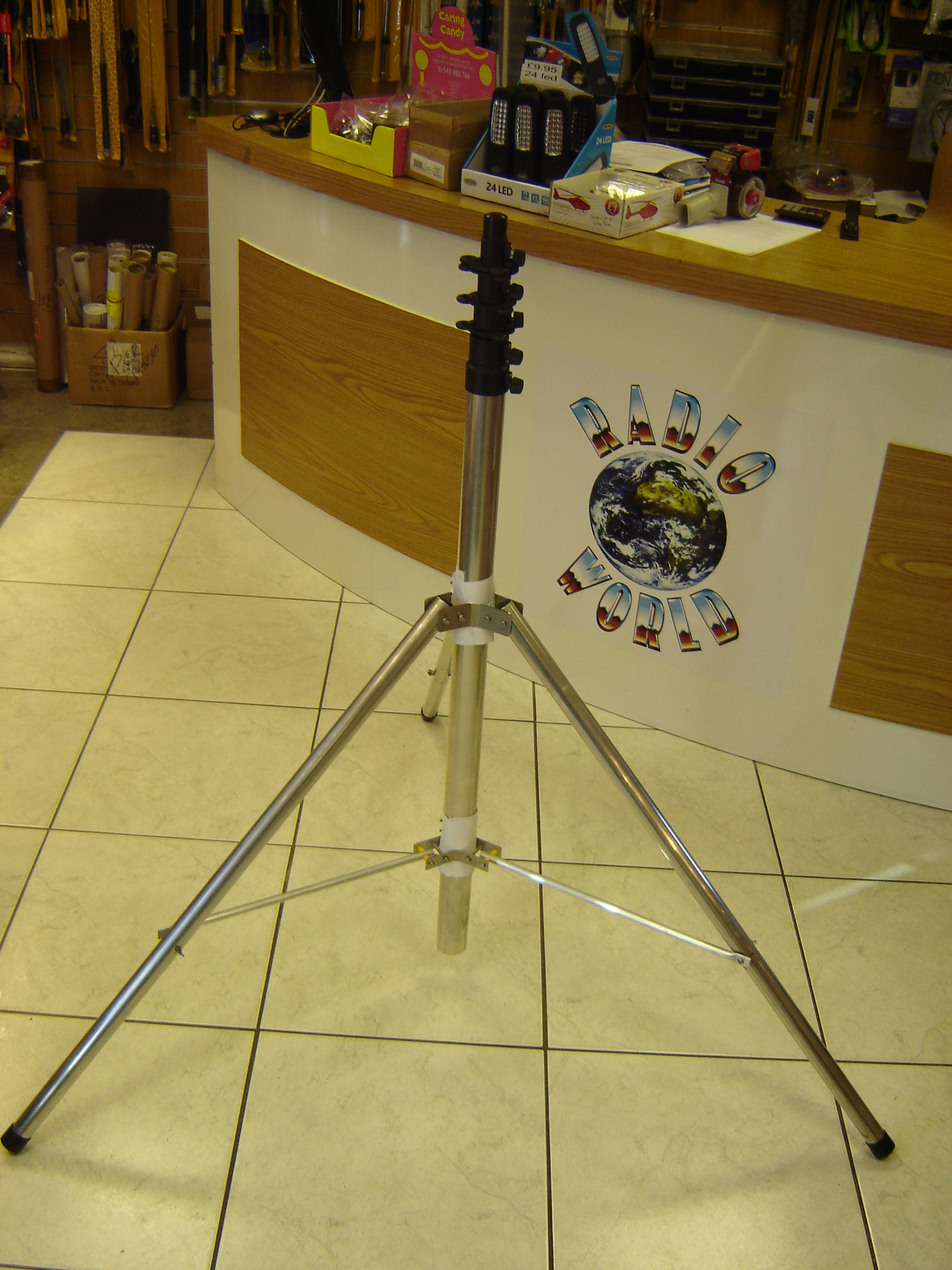 Mast Tripod. Designed to work with masts with a 2 inch bore