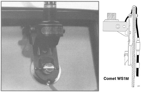 Antenna Window mount-Glass