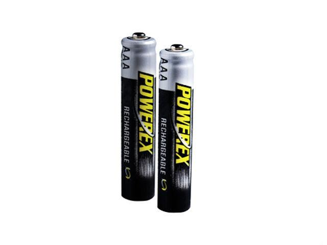 Maha MH-RAAA290 POWEREX 2 x AAA 900mAh Re-Chargeable Batteries
