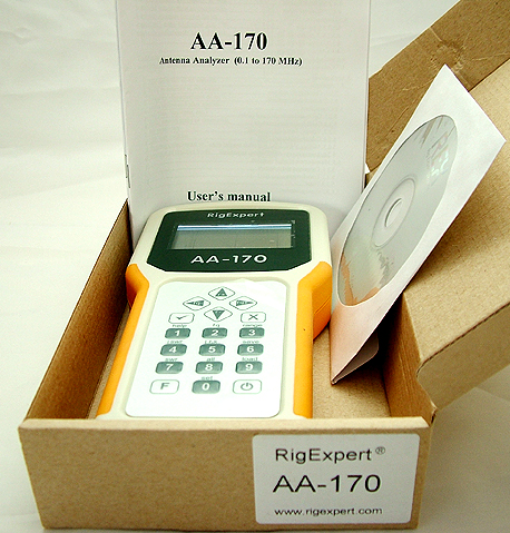 RigExpert AA-170 Antenna Analyzer 1-170MHz 4