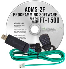 ADMS-2F Programming Software and USB-29F cable for the Yaesu FT-