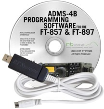 ADMS-4B Programming Software and USB-62 cable for the Yaesu FT-8