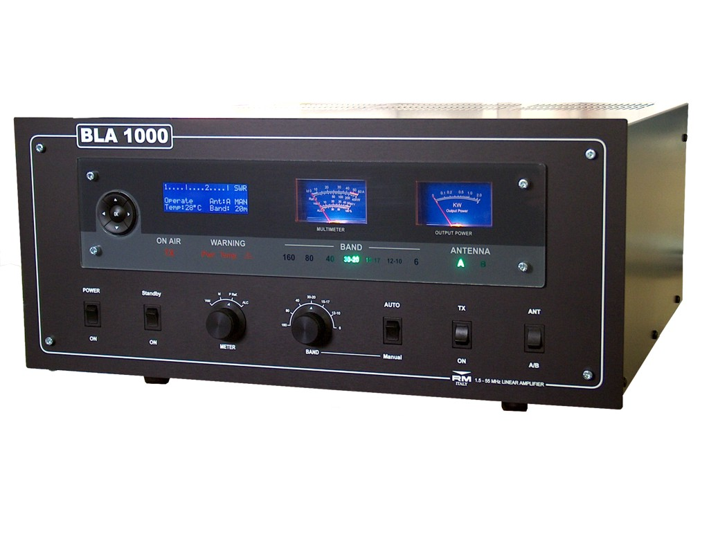 RM BLA 1000 1000 Watts Key-down Output 1,5 - 55 MHz