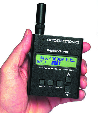 DIGITAL-SCOUT Optoelectronics Digital RF Counter