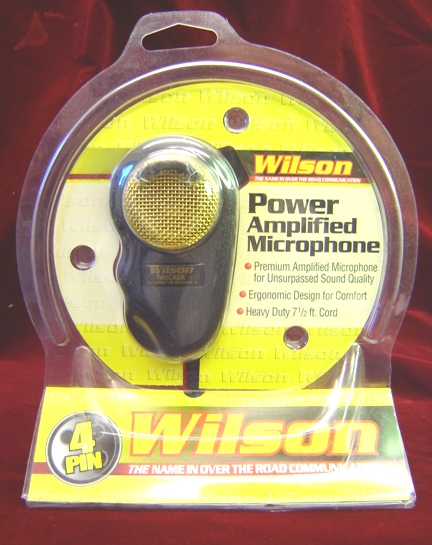 Wilson black and gold Amplified Power Microphone
