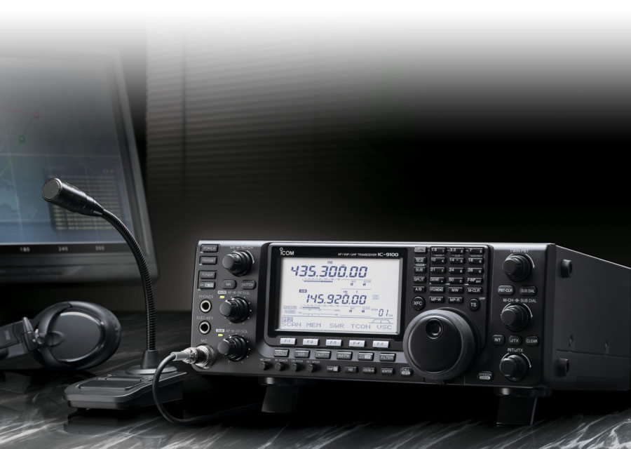 icom ic-9100 radio