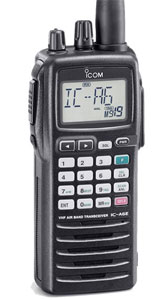 Icom IC-A6 Handheld Airband Transceiver With 8.33kHz Dual Channe