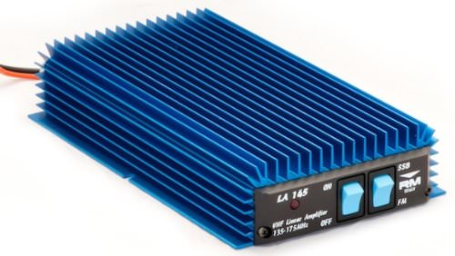 R.M. LA 145 VHF MOBILE AMPLIFIER 85WATT MAX