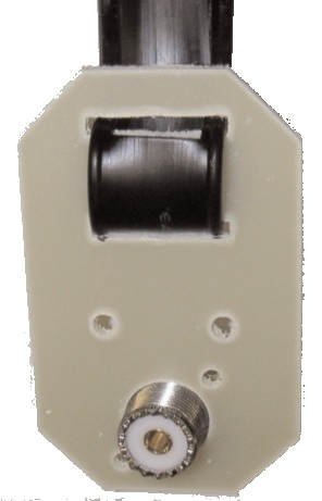 MFJ-16E01 450 Ohm Ladder Line Insulator End Feed Point with SO-2