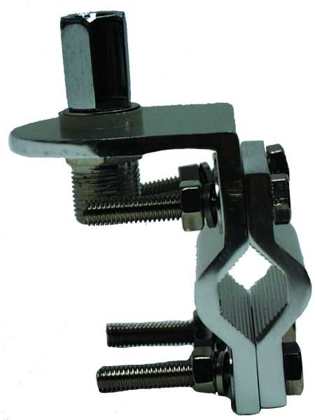 MFJ-342S - 3/8 Inch Mirror/Luggage Pipe Mount