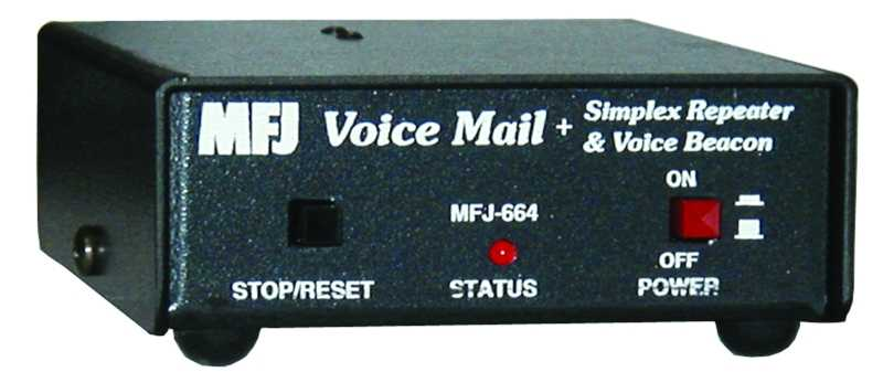 MFJ-664 - Radio Voice Mail