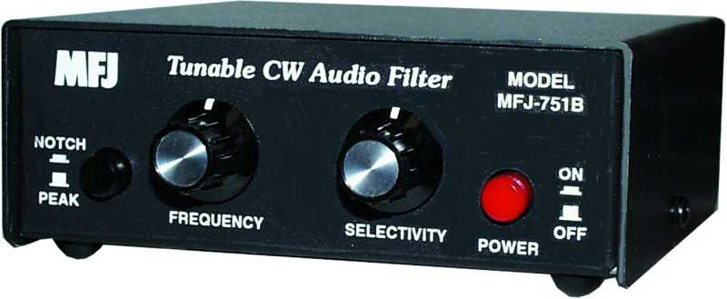 MFJ-751B - Super Tunable CW Audio Filter