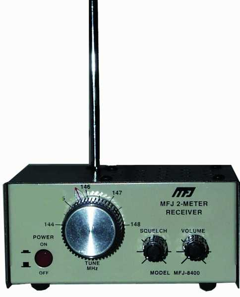 MFJ-8400W 2 Meter Receiver -- Wired