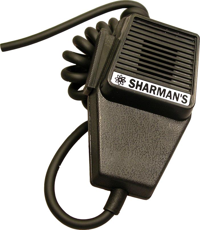 SHARMAN'S DM520 COFFIN SHAPE DYNAMIC MICROPHONE