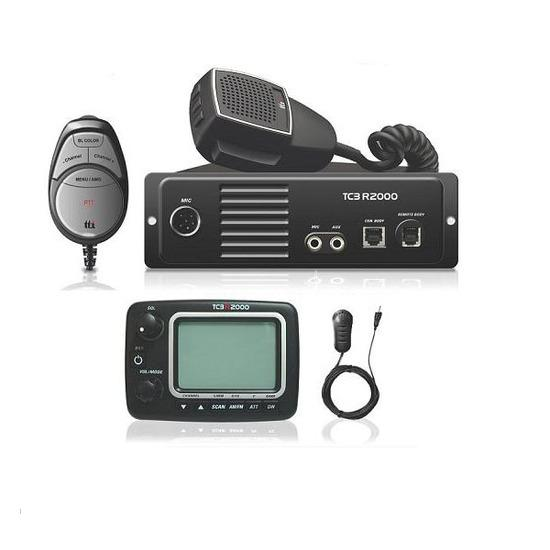 TTI TCB-R2000 MULTI-STANDARD CB RADIO + REMOTE DISPLAY