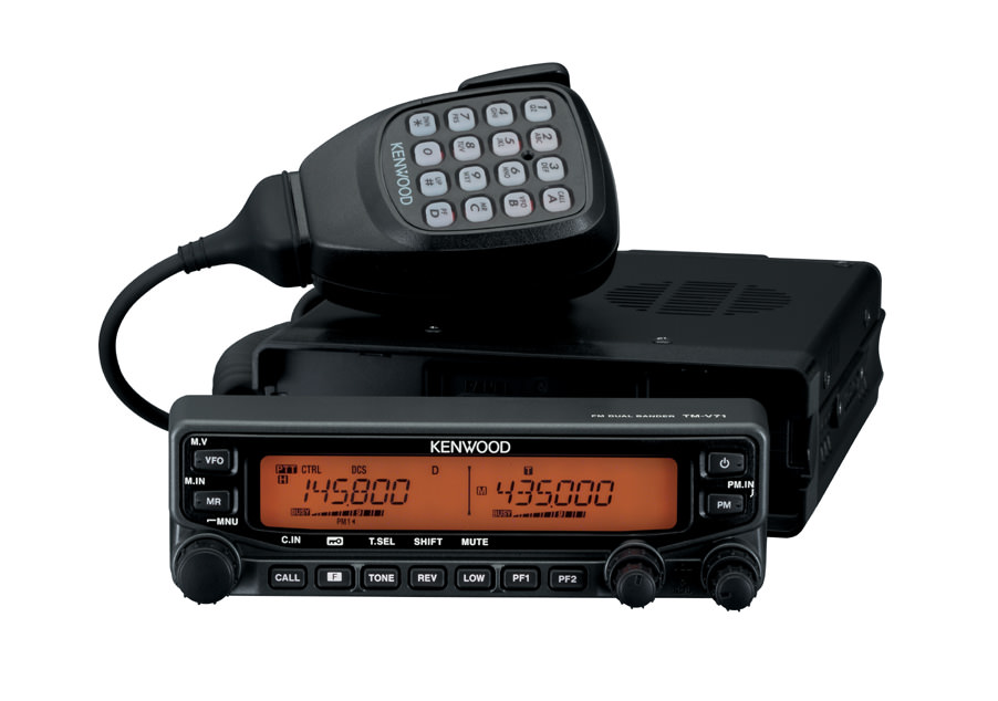 kenwood TM-V71E - VHF/UHF Mobile Transceiver.
