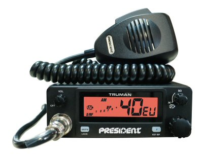PRESIDENT TRUMAN ASC MOBILE CB RADIO (MULTI CHANNEL)