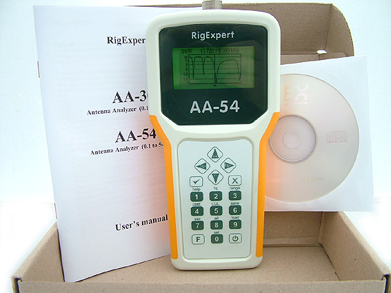 RigExpert AA-54 Antenna Analyzer