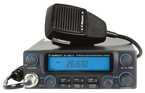 Albrecht AE-485S 10m AM/FM/SSB Mobile/Base station transceiver