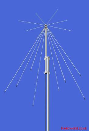 ICOM AH-8000 - Discone receiving antenna 100-3300MHz