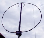 ALEX LOOP antenna 7-30 MHz Loop Collapsible
