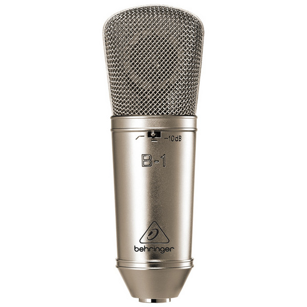 B-1 L Diaphragm Directional Condenser Microphone with shock moun