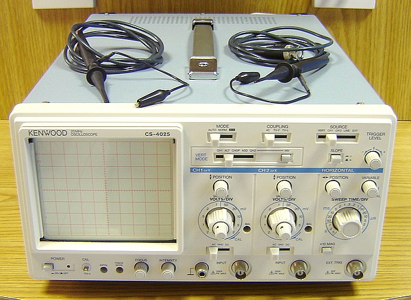 second hand kenwood cs 4025 dual trace oscilloscope with leads rh radioworld co uk User Guide Template User Manual