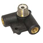 DPC-38V Right Angle Dipole Centre - 2x 3/8th Inch Mobile Threads