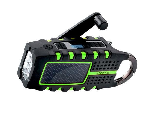 Eton Scorpion Solar Powered, All-Terrain Radio