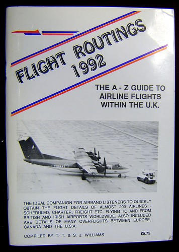 Second Hand Flight Routings 1992