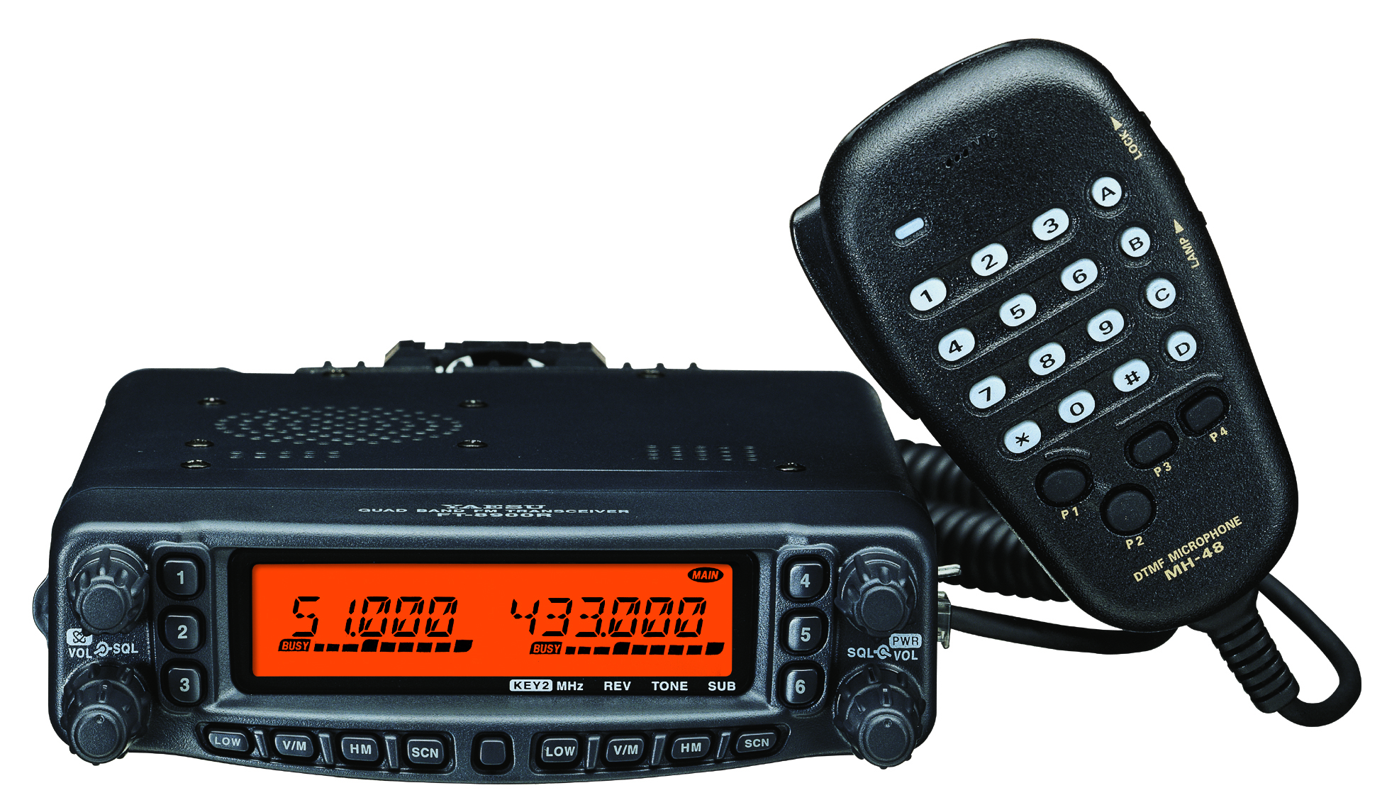 Yaesu FT-8900 R/E  Quad Band Mobile Transceiver Free separation