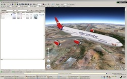RadarBox 3D Upgrade - Google Earth overlay with 3D picture