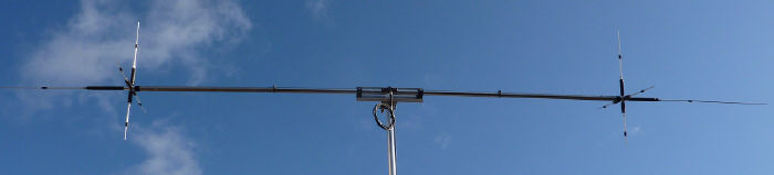H.F. 6m to 20m dipole with WARC bands
