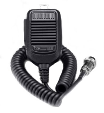 Icom HM-36 Hand Mic with Up/Down Buttons