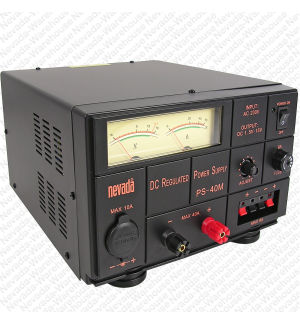 Nevada PS-40M 40 Amp Variable Voltage Power Supply.