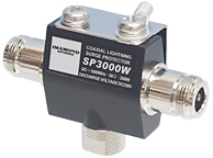 Diamond SP-3000W Lightning surge arrestor DC-3000MHz 200W PEP 2