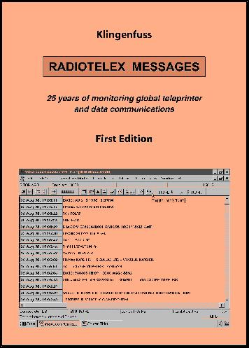 K-RTLM Klingenfuss Radiotelex Messages 1974-1998 1st Ed.