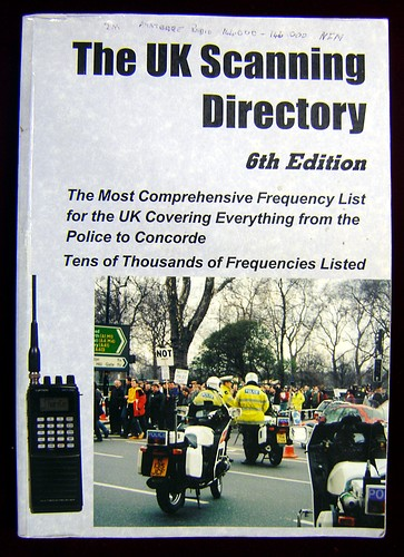 Second Hand UK Scanning Directory 6th Edition