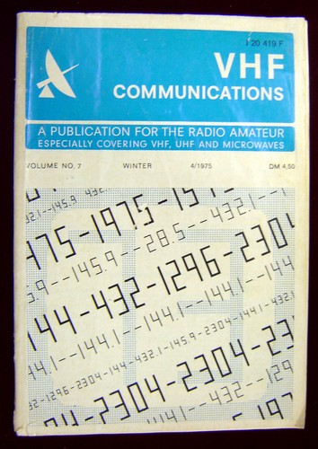 Second Hand VHF Communications Magazine 1975