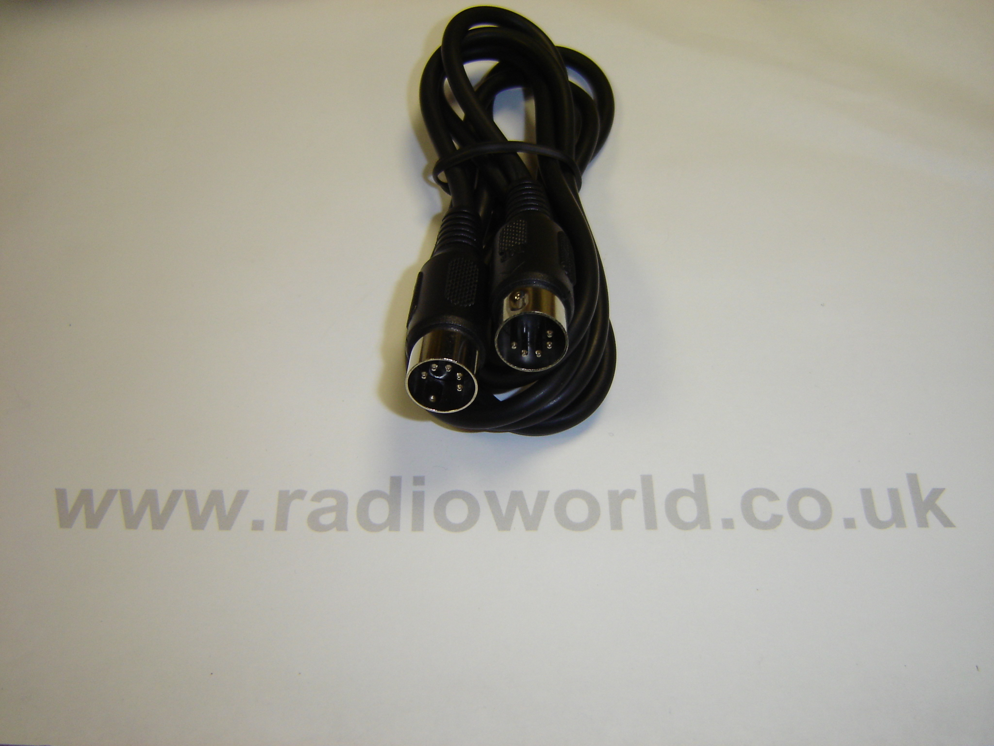 W2IHY 8 Band EQ to EQ Plus cable (5 Pin DIN to 5 Pin DIN cable)